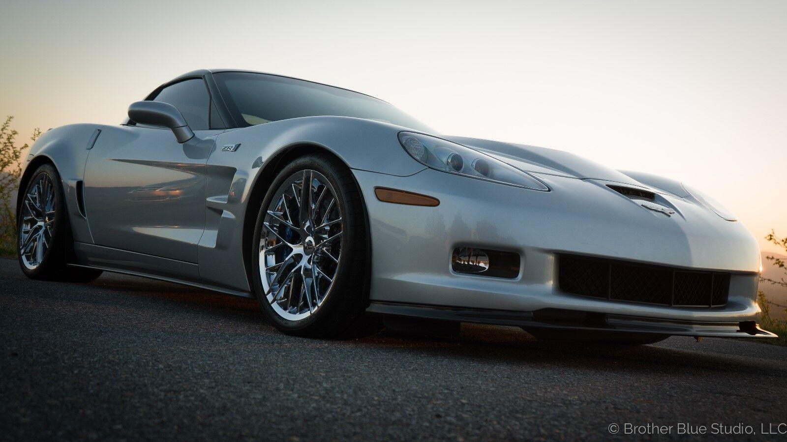 2010 Silver Chevrolet Corvette     C6 Corvette Photo 1