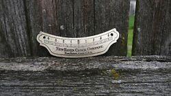 antique new haven clock co wall regulator pendulum beat scale