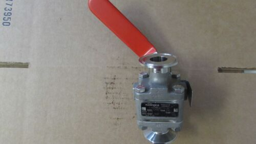 Flowserve Triclover Ball Valve, 1/2, KO6, Used