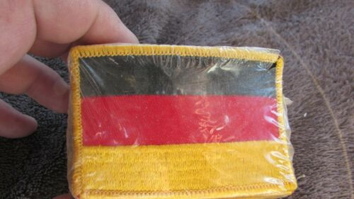 OLD STOCK LOT OF GERMAN FLAG PATCHES