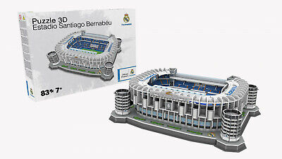 Usado, REAL MADRID ESTADIO SANTIAGO BERNABEU 3D PUZZLE STADION PUZZLE 83 TEILE NANOSTAD comprar usado  Enviando para Brazil
