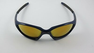 Oakley Twenty XX Midnight Blue 24K Gold Iridium 04-291 RARE