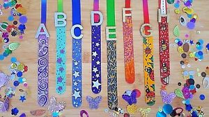 CHILDREN'S BOOKMARKS PERSONALISED BOYS & GIRLS HAND PAINTED WOODEN READING FUN