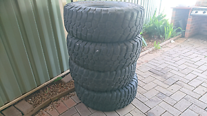 4x4 35inch tyres Unanderra Wollongong Area Preview