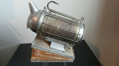 Vintage Antique Beekeeping Bellowed Bee Keep Hive Smoker Still Works