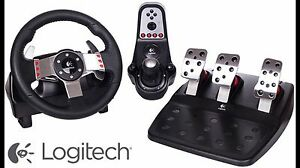 G27 racing wheel with shifter and pedals