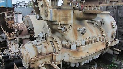 General Electric Steam Turbine 14030hp 6015rpm 525psig 825f 55.8psi
