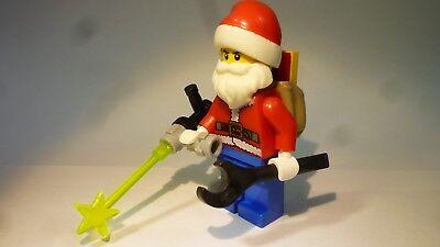 LEGO® City: Nikolaus, Einbrecher im Nikolauskostüm + Schneidbrenner, Sack