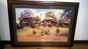 Darcy Doyle Framed Print Dash for Home St Agnes Tea Tree Gully Area Preview