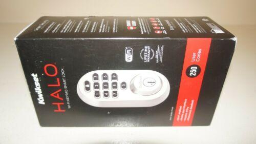 Kwikset 99380-001 Halo Wi-Fi Smart Electronic Keypad Deadbolt - Satin Nickel