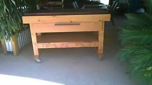 Large Mobile Butcher's Block W/Drawer Blanchetown Mid Murray Preview