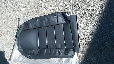 discovery 3 front seat cover back black leather ebony new HBA500112PVJ LH