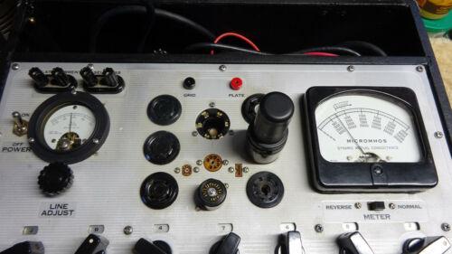Hickok 539A tube test set