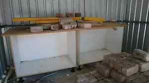 LARGE WORK BENCH - CUPBOARD melamine Willoughby Willoughby Area Preview