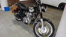 Kawasaki W800 Green 2011 Beaconsfield Inner Sydney Preview
