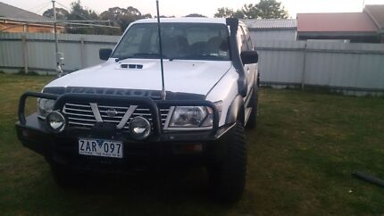 Nissan patrol  Seymour Mitchell Area Preview