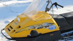 2005 Skidoo tundra long track with reverse