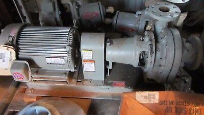 Bell & Grossett Boiler Feed Pump 620-DBF 12.5GPM @ 150psi 3600RPM w/motor