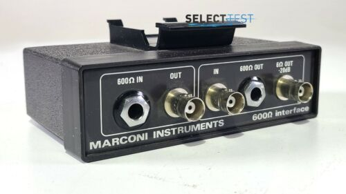 MARCONI 54411-052 600 Ω INTERFACE FOR 2955 SERVICE MONITOR **LOOK** (REF.: 004G)
