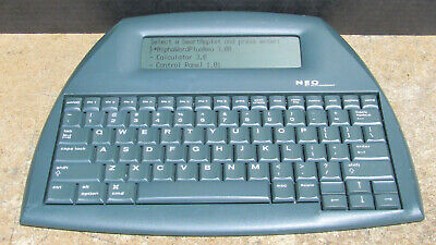 Neo By Alphasmart Inc. Portable Word Processor Typewriter Tested And Working