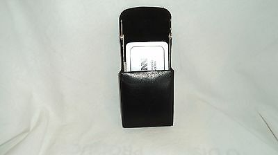Winn Int. 6562 Nappa Leather Elavetor Business Card Case
