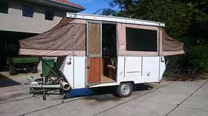 Sunwagon poptop camper trailer Eumundi Noosa Area Preview