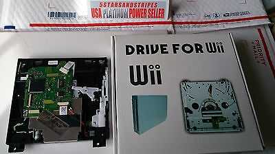 NEW IN RETAIL GIFT BOX NINTENDO WII COMPLETE WITH LENS & BOARD DVD DRIVE