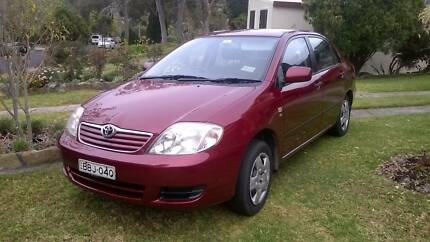 2007 Toyota Corolla Sedan Sydney Region Preview