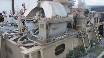 General Electric Steam Turbine Drv 525 4600hp8700hp10450rpm
