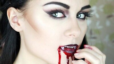 Kit deguisement FEMME vampire halloween accessoire maquillage sang crocs dracula - Femme Halloween Maquillage