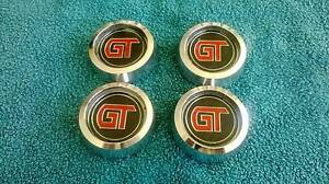 Ford wheel gt skull caps collars xa xb gt 12 slot coupe sedan Gympie Gympie Area Preview