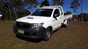 Toyota Hilux Workmate 4x2 Cab Chassis MY2012 Kariong Gosford Area Preview