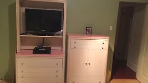 Commode and TV unit