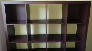 BRAND NEW PERFECT COND 16 Cube Shelf 4 X 4 Cubes