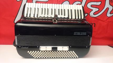 SETTIMIO SOPRANI CARDINAL 120 BASS PIANO ACCORDION ITALIAN MADE