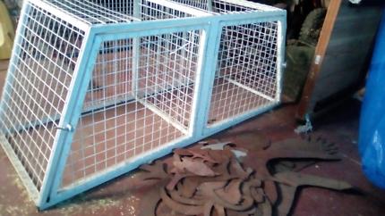 Ute dog cage / dog box