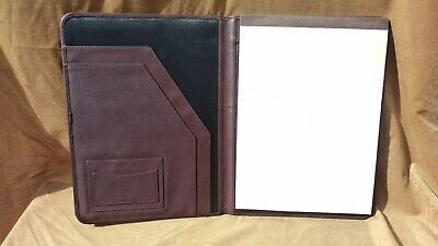 Millennium 300fn Burgundy Leather Letter Sized Writing Pad