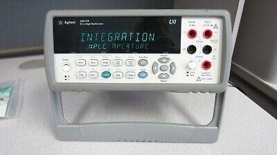 Agilent 34411a 6 12 Digit Enhanced Digital Multimeter