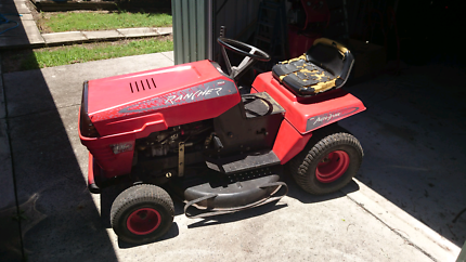 Rover rancher ride on mower