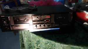 Anteuqe Yamaha Stereo Double Cassette Deck m.KX-W202 rs. Wavell Heights Brisbane North East Preview