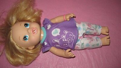 HASBRO BABY ALIVE 2013   Brushy Brushy Brush Teeth Doll with original Clothes  for sale  Fulton