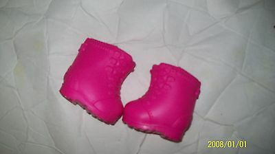 CABBAGE PATCH KIDS DOLL shoes pink boots
