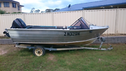 4.5 Metre aluminium runabout (trimcraft) Blue Haven Wyong Area Preview