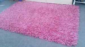 Pink 'Dream Shaggy' Rug Large Beldon Joondalup Area Preview