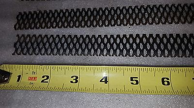 Lot Of 4 Pieces Mmo Coated Expanded Titanium Mesh Anodes - 1 X 10