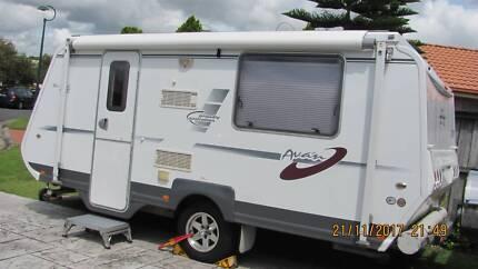2010 A Van Pop Top Caravan