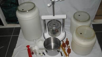 Home wine making equipment