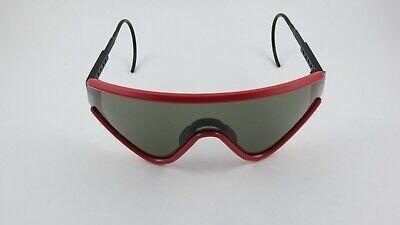 Oakley Eyeshade Matte Red Grey 03-008 Gen 1 RARE