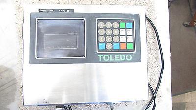Toledo Scale 8142 Digital Operator Interface Panel