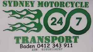 Motorcycle Motorbike Towing Transport Breakdown 24/7 Sydney &NSW Concord Canada Bay Area Preview